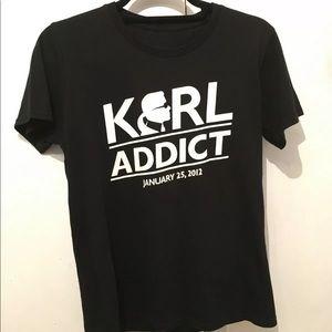 KARL ADDICT JANUARY 25, 2012 T-Shirt
